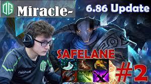 miracle sven safelane pro 6 86 patch gameplay dota 2 mmr 2