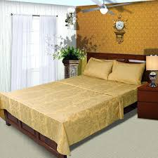bedding yellow just linen yellow queen size x inches bedding sheet set with deep pocketed fitted