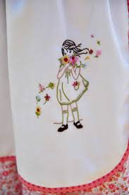 Girl with flowers. Creative EmbroideryModern EmbroideryEmbroidery StitchesEmbroidery  PatternsHand ...