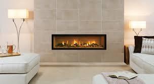 wall gas fire studio 3 edge logs