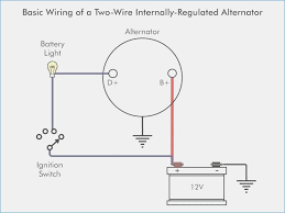 wiring diagram for single wire alternator & ford one wire alternator gm one wire alternator wiring diagram enchanting single wire alternator wiring diagram position wiring diagram for 2 wire alternator