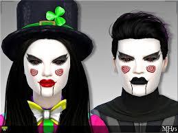 s4 kreepy clown makeup