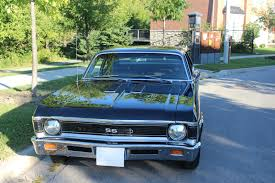 1969 Chevy Nova SS Black on Black (Documented) for sale in ...
