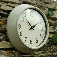 captivating 24 inch outdoor clock of 10 easy pieces clocks gardenista