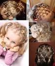 Детская прическа своими руками на короткие волосы 2