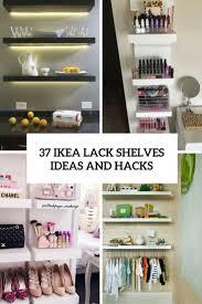 ikea lack shelves ideas and hacks cover