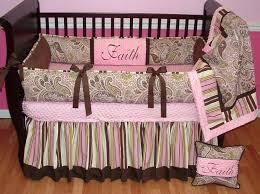 bedding for nursery girl brown flowers crib per design crib bedding for girls ideas for bedding for nursery girl