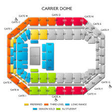 Duke Basketball Seating Chart Duke Blue Devils At Syracuse Orange Mens Basketball
