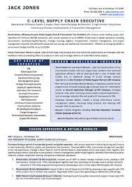 resume examples cv sample resume templates rso resumes 2 c level supply chain executive