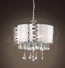 vivienne stylish 4 light chrome frosted glass crystal chandelier 18 5 h x 17 5
