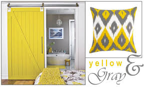 obsessed with this yellow barn door first saw it in a model home designed by kellie clements and i think i need it