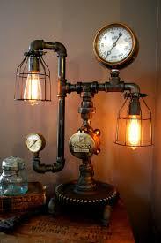 steampunk lighting. 58 Most Cool Lamp Rod Diy Desk Steampunk Light Switch Industrial Base Flair Lighting