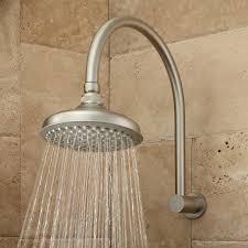 brushed nickel shower extension arm catalunyateam home ideas shower extension arm information