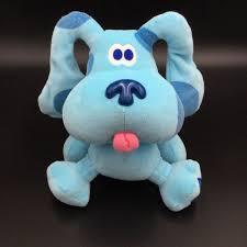 Eden Blues Clues Blue Dog Puppy Plush 8 Soft Toy Stuffed Blues