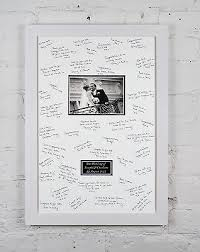 photo guest sign in book personalized wedding signing signature frame guest sign book 2 gel