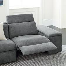 enzo 3 piece reclining chaise sectional