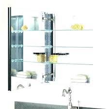 cabinet shelf clips medicine cabinet shelves glass