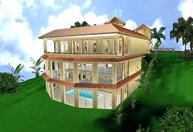 house built into hill house plans built into a hill hill side home hill side home house built into hill