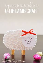 Simple Easter Crafts For Kids Lamb Craft Easter Crafts And