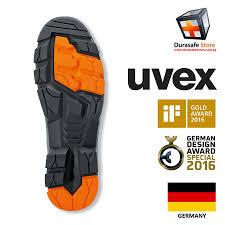 Uvex Safety Shoes Size Chart Uvex 6502 Uvex 2 Lightweight Safety Shoe Black Orange Size 39 46 Durasafe Shop