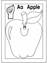 Free Printable Abc Sign Language Chart Sign Language Alphabet Free Coloring Pages Apple To Ice