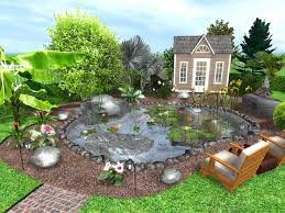 Backyard Plans Designs Beauteous 48 Free Garden And Landscape Design Software The SelfSufficient Living