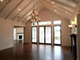 lighting for vaulted ceiling treatment with beams cathedral recessed hanging pendant lights ceilings installing