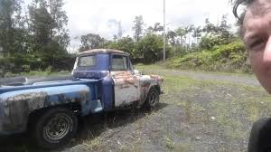 Saying goodbye to the 56 Chevy rat truck... 69 charger parts money ...