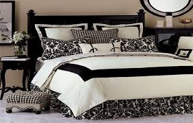 Bed Comforter Sets For Your Sleep Quality : Black And Off White Design Bed  Comforters
