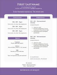 Free Resume Templates Download For Microsoft Word - Resume And Cover ...