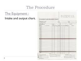 Purpose Of Intake And Output Chart Ppt Intake And Output Calculation Powerpoint Presentation