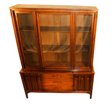 China Cabinet With Hutch Kent Coffey Perspecta Mid Century Modern Hutch China Cabinet