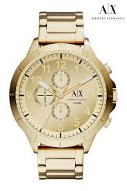 mens watches designer watches for men uk next official site armani exchange watch
