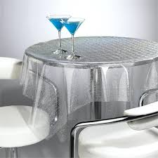 clear vinyl tablecloth tablecloths grey plastic tablecloth metallic silver table cover curtains window living room table