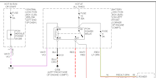 ford escape no hot wire to relays in fuse box ingition graphic graphic