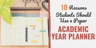 10 Reasons Students Should Use A Paper Academic Year
