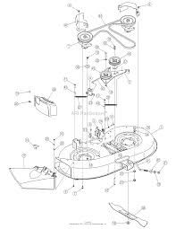 Deck assembly on 5 7 hp briggs engine diagram