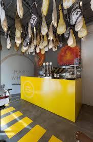 Colorful Interior Design modern fast food restaurant interior design idea with bicycle 5028 by uwakikaiketsu.us