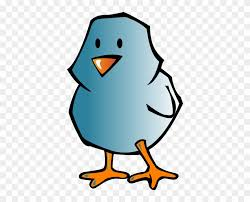 Blue Bird Clip Art Easter Chick Coloring Pages Free Transparent
