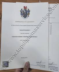 Replica Degree Certificates Uk Birmingham City University Fake Degree And Transcript Buy