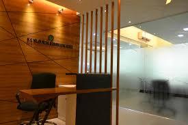 office reception area design. A 3d Image Of Office Reception Desk Design By Zero Inch Interiors Area K