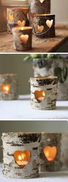 diy outdoor wedding lighting. Bark Heart Lanterns | 15 DIY Outdoor Wedding Ideas On A Budget Diy Lighting N