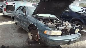 1993 Chevy Caprice sedan at LKQ junkyard in Clearwater, FL - YouTube