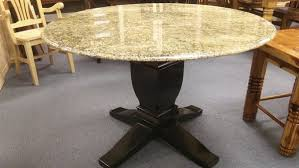 best home furniture round granite dining table iron wood within plans 10
