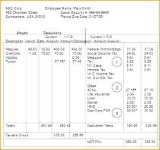 Check Stub Calculator Payroll Pay Stub Template Simple Pay Stub Template Excel Free
