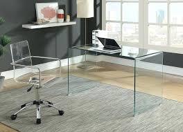 large glass desk desktop magnifying