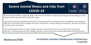 severe mental illness and risks from