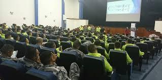 """Más de 200 cadetes de la Escuela Superior de Policía """"Alberto Enríquez  Gallo"""" recibieron taller sobre el Seguro de Depósitos – COSEDE"""