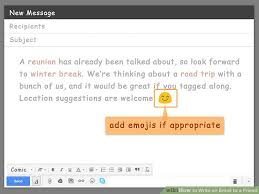 how to write an email to a friend pictures wikihow image titled write an email to a friend step 14