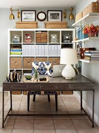 Image Efficient Perfect Office Setup Better Homes And Gardens Home Office Storage Organization Solutions